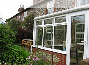 Wells-next-the-Sea Holiday Cottage front garden